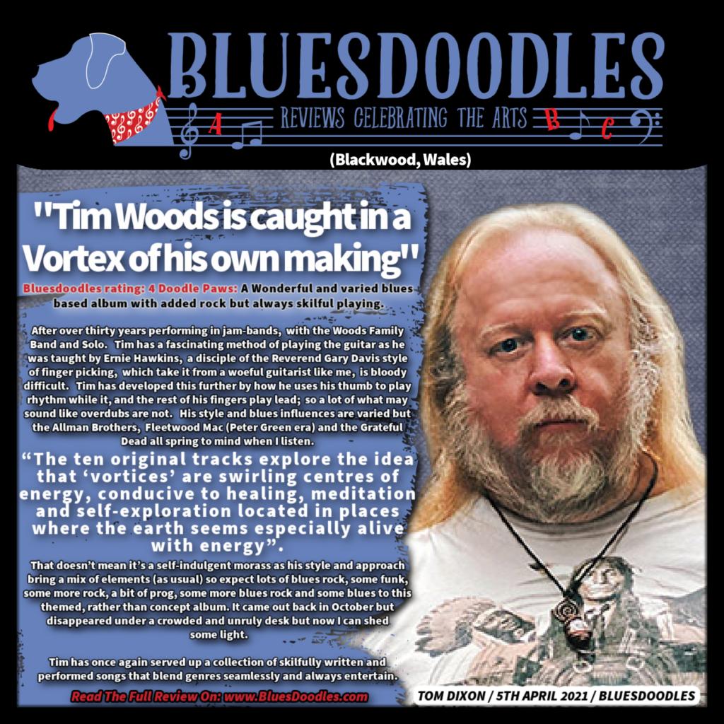 Tim Woods Blue Doodles 2021